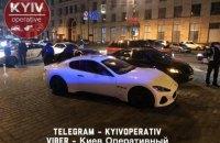 В Киеве разыскивают водителя Мазерати, который устроил стрельбу после ДТП