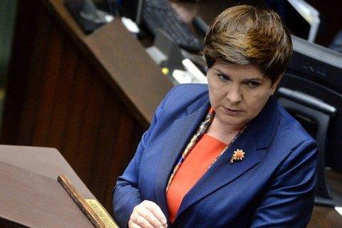 Премьер-министр Польши заявила о праве на репарации от Германии