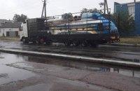 Вертолет ГосЧС увезли с места аварийной посадки в Харьковской области
