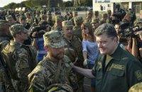 Яценюк озвучил зарплаты командиров и солдат Нацгвардии, участвующих в АТО
