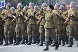 Парад в честь Дня Победы на Майдане