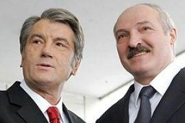 Ющенко пришлось удовлетвориться встречей с Лукашенко