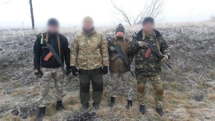 Грудень 2014, кінець ротаціі. Ю. Лапутіна - командир опергрупи СБУ в АТО.