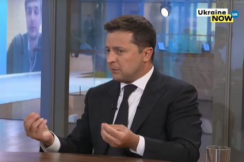 """Зеленський: Україна повинна отримати гарантії постачання газу на 10-15 років після запуску """"Північного потоку - 2"""""""