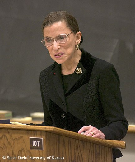 Рут Ґінзбурґ, суддя Верховного суду США