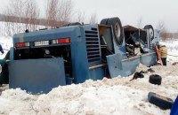 В России перевернулся автобус с детьми: 7 погибших, 25 раненых