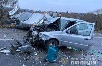 Четверо дорослих і дитина постраждали в ДТП під Тернополем