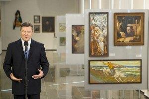 Янукович хочет привлечь бизнес к празднованию 200-летия со дня рождения Шевченко
