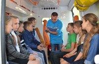 В Николаеве из школы эвакуировали 400 учеников из-за распыления неизвестного аэрозоля (обновлено)
