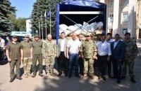 Латвия доставила грузовик с гумпомощью для жителей Марьинки и Станицы Луганской