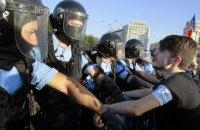 Число пострадавших из-за протестов в Бухаресте выросло до 440