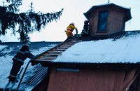 В деревянной часовне в Стрые произошел взрыв, 62-летний мужчина получил ожоги лица