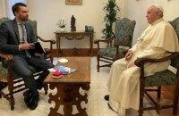 Папа Франциск перед самітом G20: потрібно визначити виклики перед людством у постпандемічний період