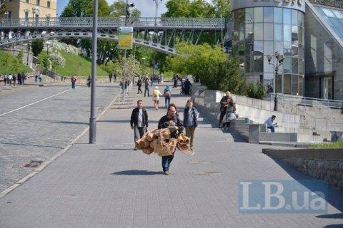Сегодня вечером вцентре украинской столицы частично ограничат движение транспорта