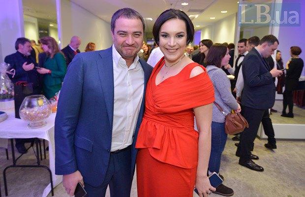 Андрей Павелко и Соня Кошкина