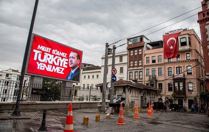 Центр Стамбула, площадь Таксим.