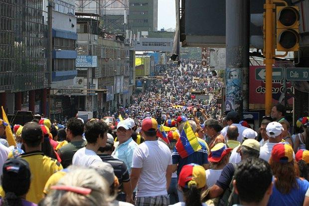 Противники Николаса Мударо в Венесуэле