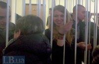 Суд оставил под стражей Заверуху и ее товарищей, подозреваемых в убийстве милиционеров