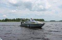 У Чорнобильській зоні поліцейські провели навчання із затримання порушників на річці