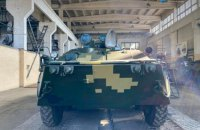 Киевский бронетанковый завод передал военным партию восстановленных БТР-80