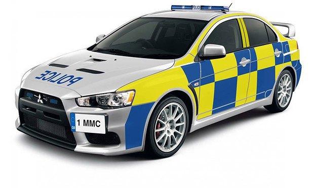 Автомобиль английской полиции