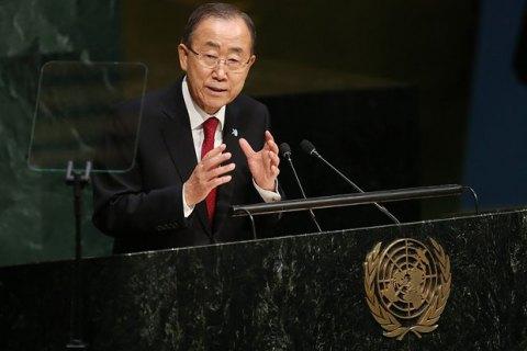 Пан Ги Мун: преступления, совершаемые в Сирии, должен рассмотреть МУС