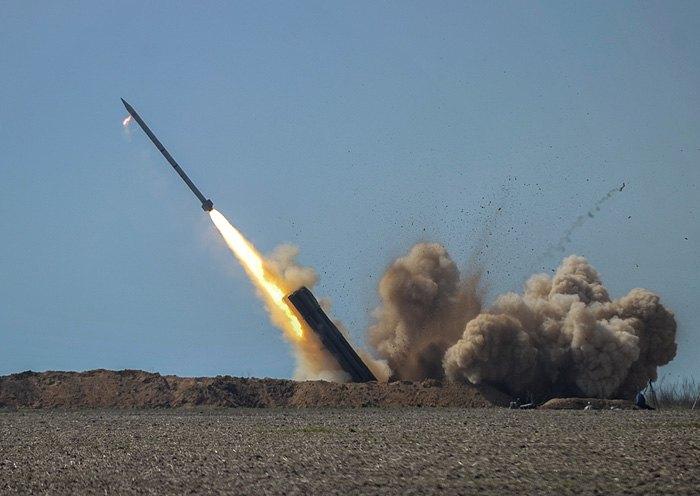 Випробування ракетного комплексу *Вільха*