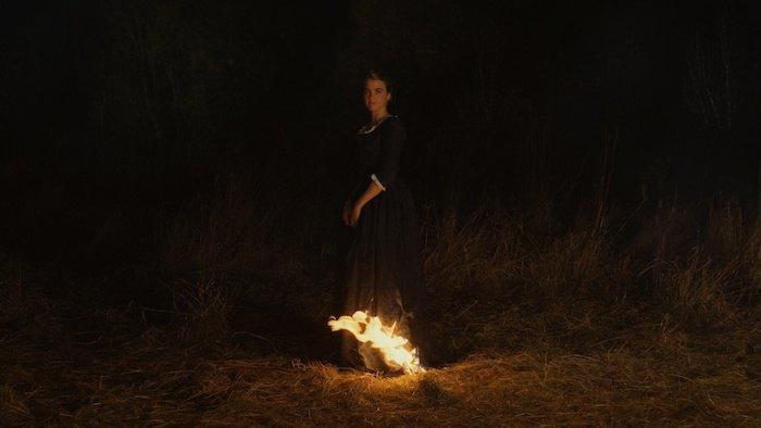 """Кадр з фільму """"Портрет дівчини у вогні"""""""