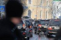 В центре Киева иностранцы устроили стрельбу во время движения кортежа