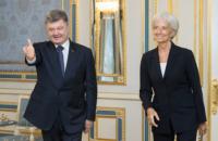 МВФ рассмотрит очередной транш Украине в октябре, - Порошенко