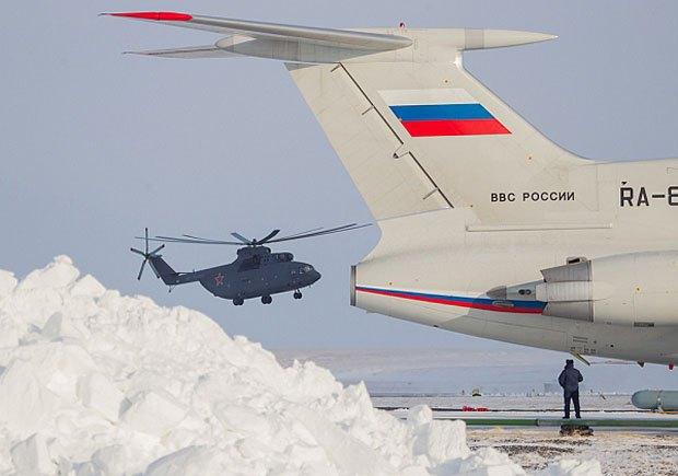 Авиация РФ в Арктике