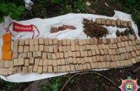 У нежитловому будинку біля Артемівська виявили арсенал зброї