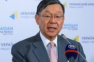 Японія не може постачати зброю в Україну, поки в країні війна, - посол