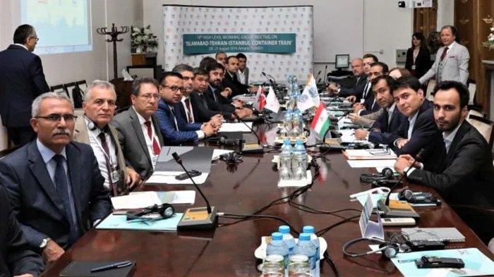 Заседание рабочей группы по запуску контейнерного поезда Исламабад-Тегеран-Стамбул