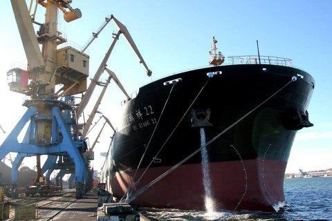 """В порт """"Южный"""" прибыл балкер с углем из ЮАР"""