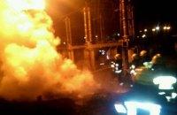 Уночі на Придніпровській ТЕС сталася пожежа