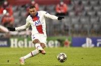Мбаппе установил рекорд Лиги чемпионов