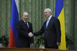 Азаров планирует побыстрее встретиться с Путиным