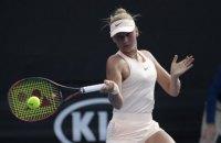 15-летняя украинская теннисистка вышла во второй круг квалификации AusOpen