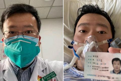 Китайське видання спростувало інформацію про смерть лікаря, який першим попередив про загрозу коронавірусу