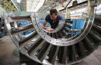 Падение промпроизводства в Украине в июле замедлилось до 4,2%