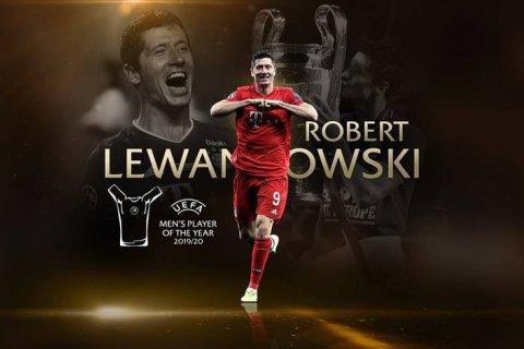 УЕФА раздал награды лучшим футболистам сезона