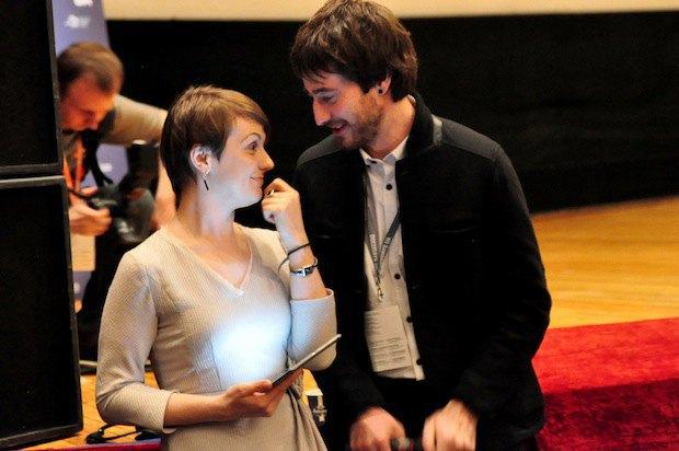 Ведущие церемонии - Наталья Гуменюк и Андрей Сайчук