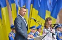 Кличко собрался установить в Киеве гигантский флаг, как в Баку