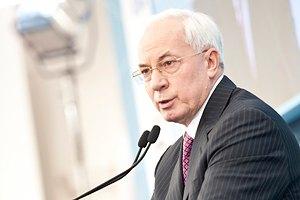 Азаров пообещал: больница будущего будет достроена