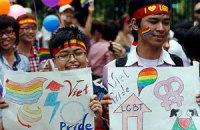 Во Вьетнаме прошел первый гей-парад