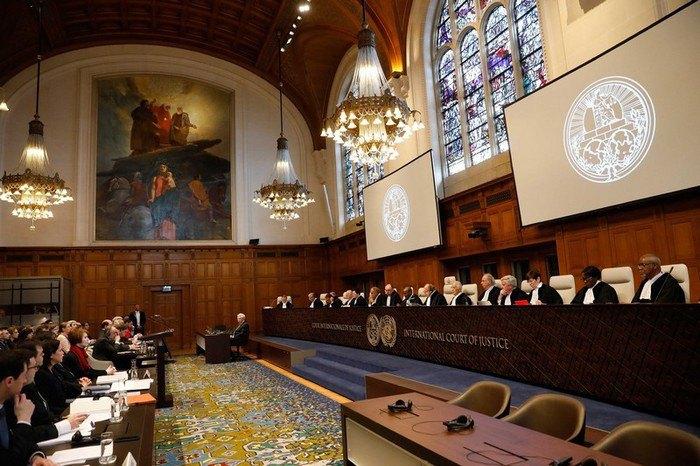 Заседание Украина против России в международном суде ООН, Гаага.