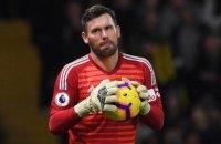 """Воротар """"Вотфорда"""" обмінявся футболками з колегою з """"Манчестер Юнайтед"""" і відразу ж виставив джерсі на аукціон"""