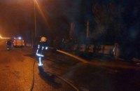 На дорозі в Рівненській області перекинулася вантажівка з гліцерином