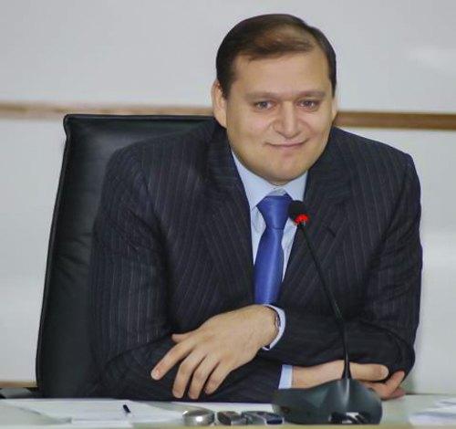 Харьковский городской голова Михаил Добкин , март 2009.